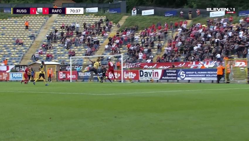 Doelpunt Michael Frey (Union Saint-Gilloise vs. Royal Antwerp FC)