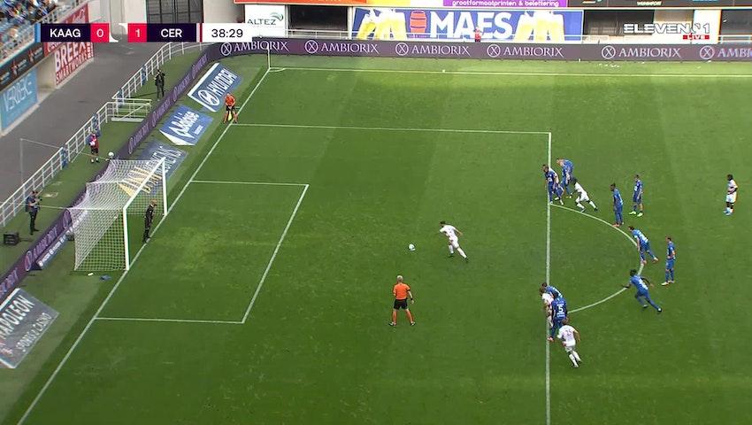 Alejandro Millán Penalty vs. KAA Gent