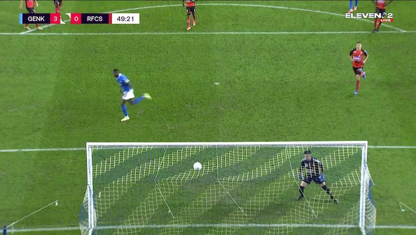 Paul Onuachu Penalty vs. RFC Seraing