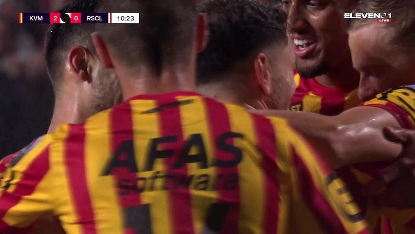 Kerim Mrabti Penalty vs. Standard de Liège