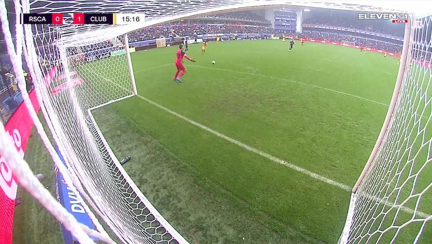 Doelpunt Mats Rits (RSC Anderlecht vs. Club Brugge)