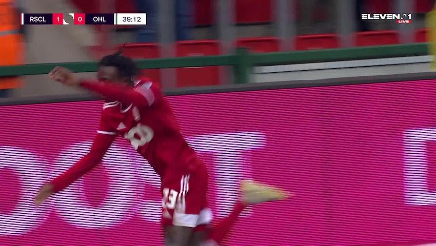 Doelpunt Abdoul Fessal Tapsoba (Standard de Liège vs. OH Leuven)