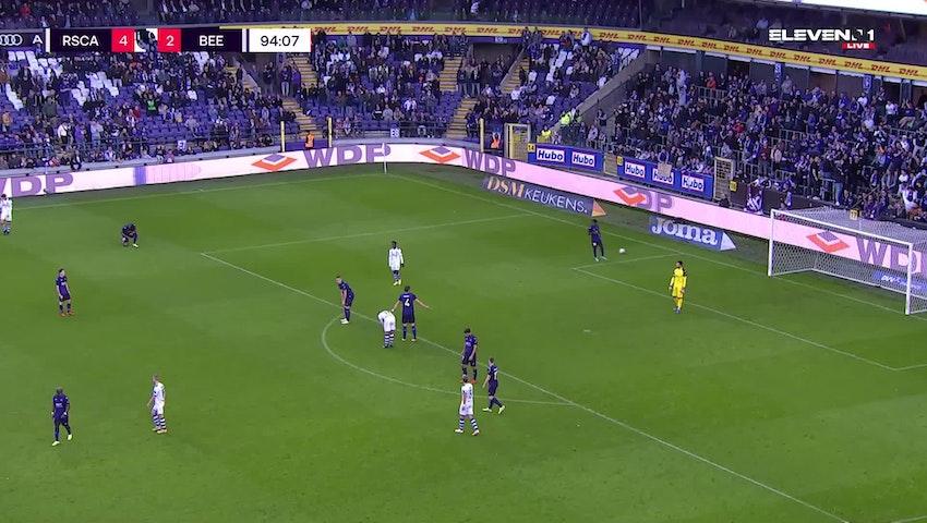 Samenvatting RSC Anderlecht vs. K. Beerschot V.A.