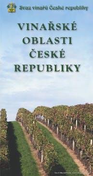 Mapa vinařských oblastí České republiky
