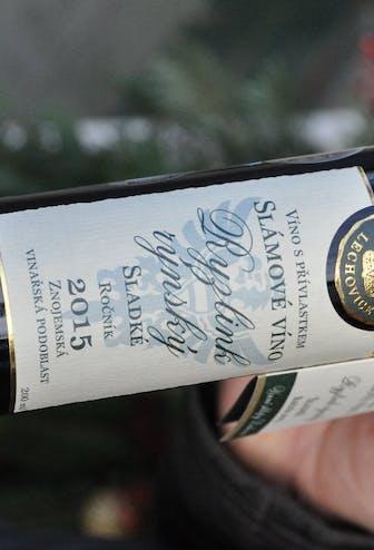Ryzlink rýnský 2015, slámové víno
