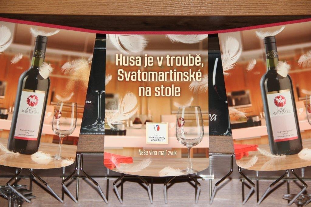 Svatomartinská vína v OC OLYMPIA Mladá Boleslav
