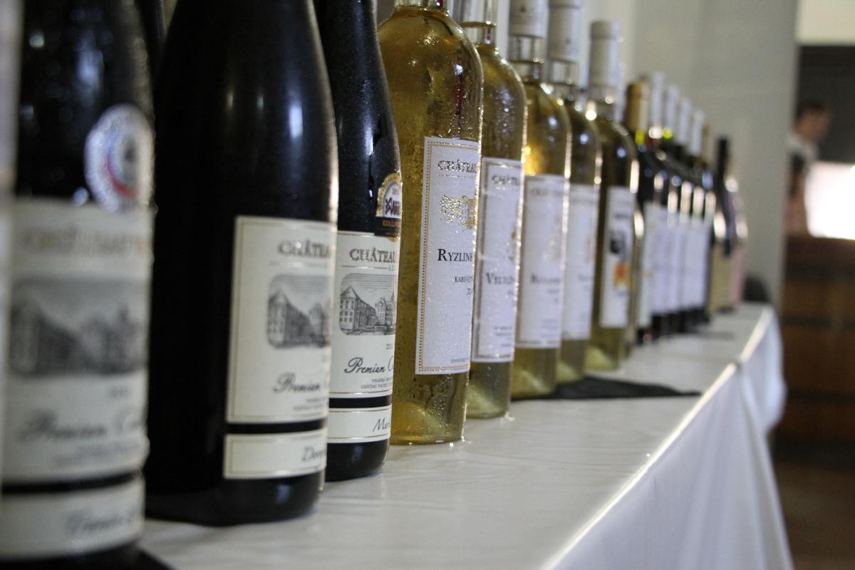 Zámecký košt vín