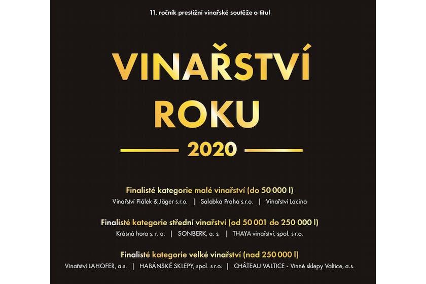 Vinařství roku 2020 devítka