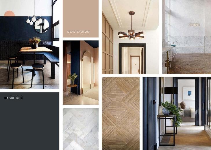 [interior design indoors door floor wood]
