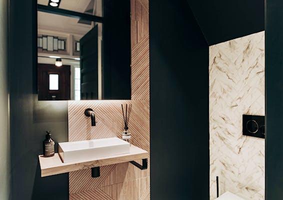 Mijn Donkere Toilet Alle Remmen Los Amber Loves Design