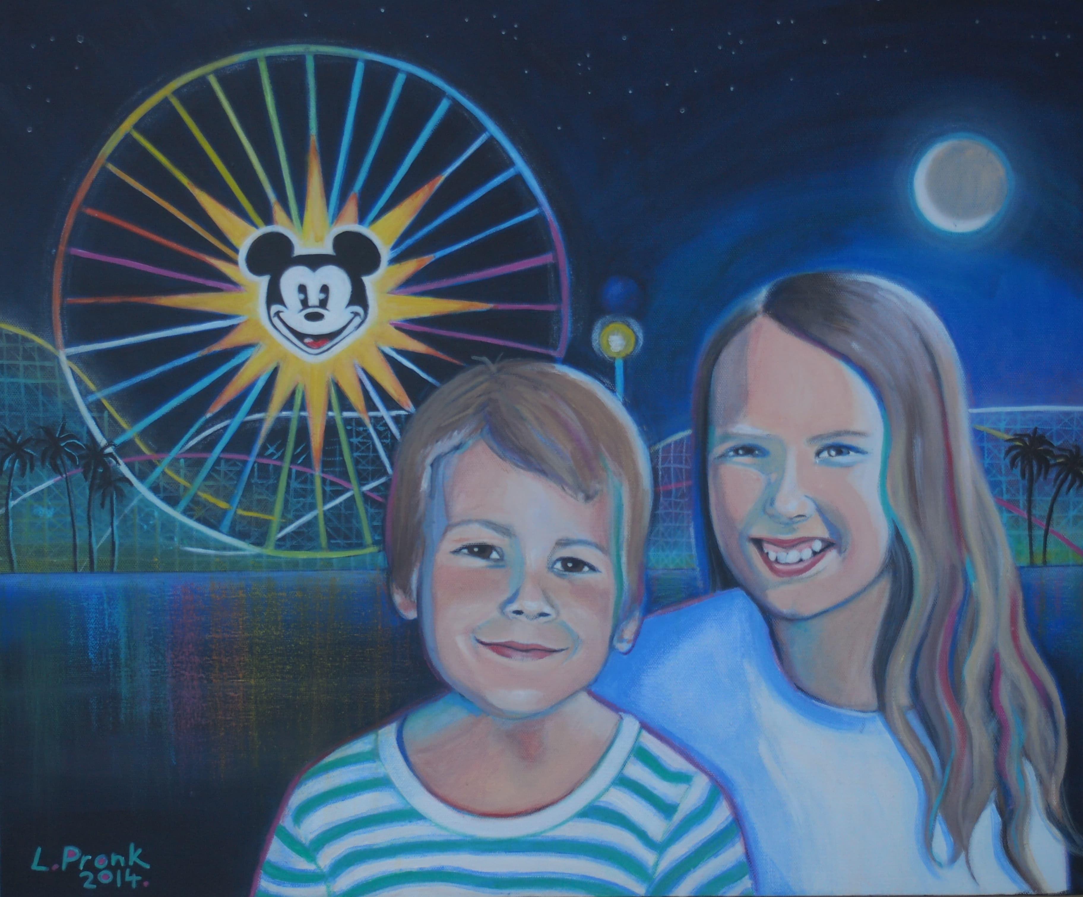 Matty & Erika at Disneyland