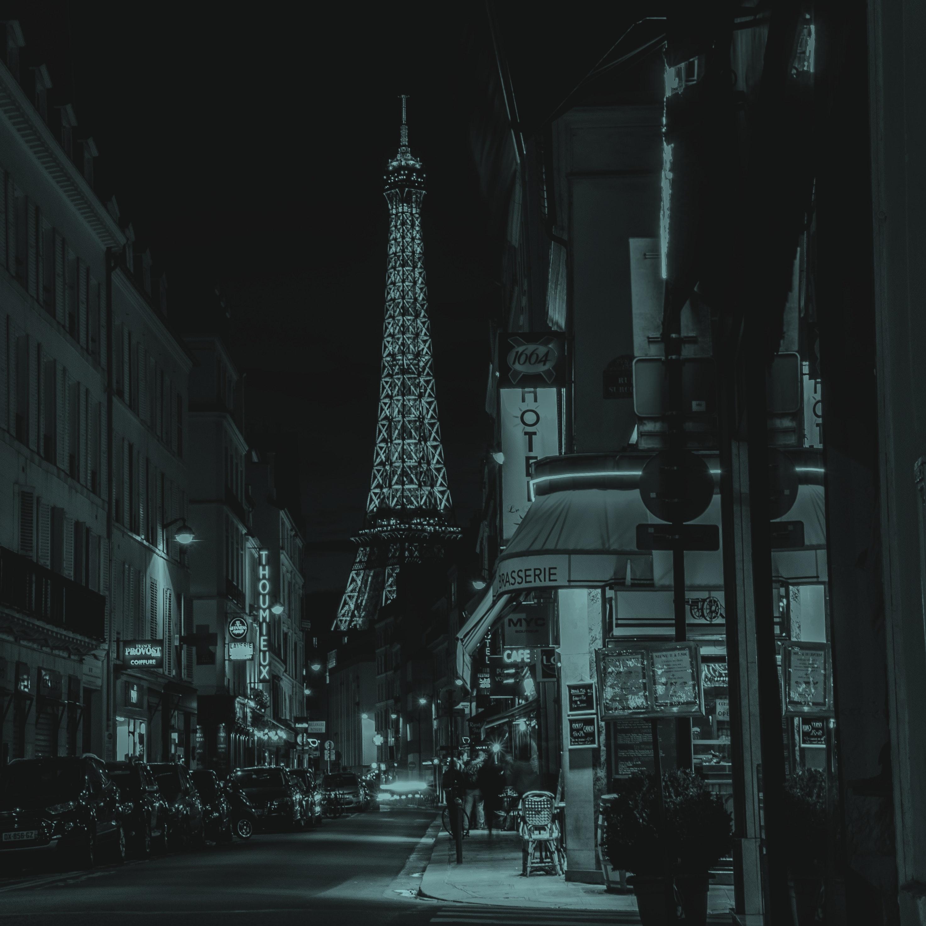 Eiffel tower street