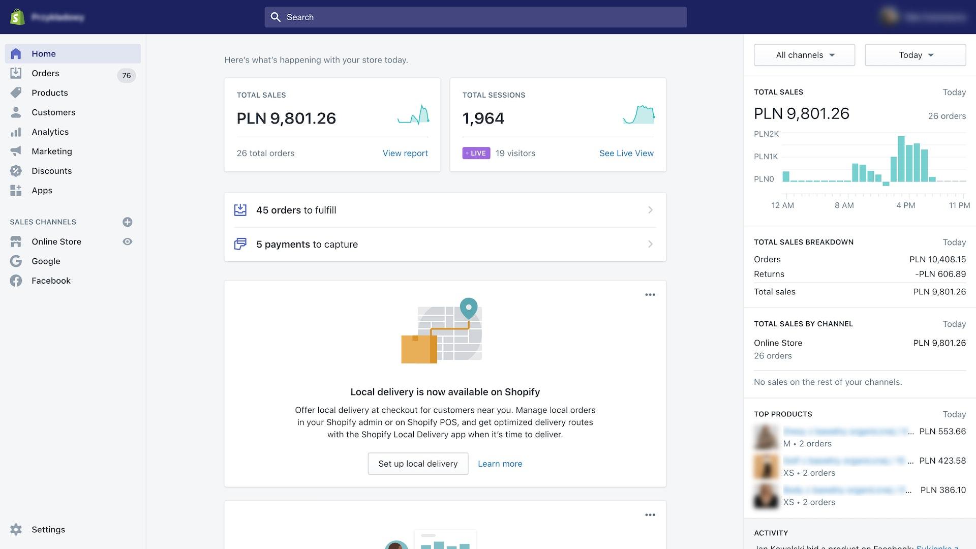 Kulisy migracji sklepu Noski Noski z Shopera na Shopify Plus