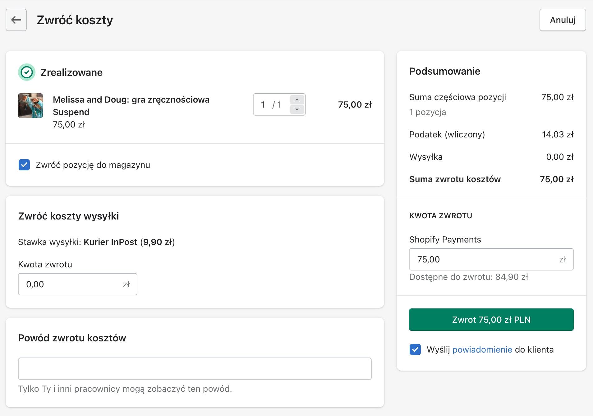 Shopify Payments – wyjaśniamy płatności od Shopify