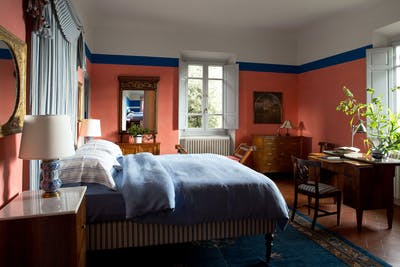 The second double bedroom on the first floor of Villa Tavernaccia