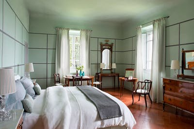 The fourth double bedroom on the first floor of Villa Tavernaccia