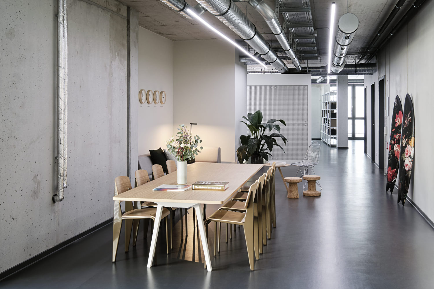 Photo of the Highsnobiety Berlin office.
