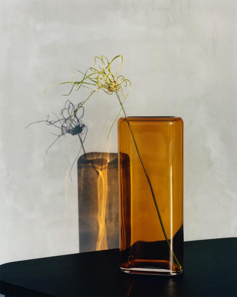 Moody still life shot of a vase.