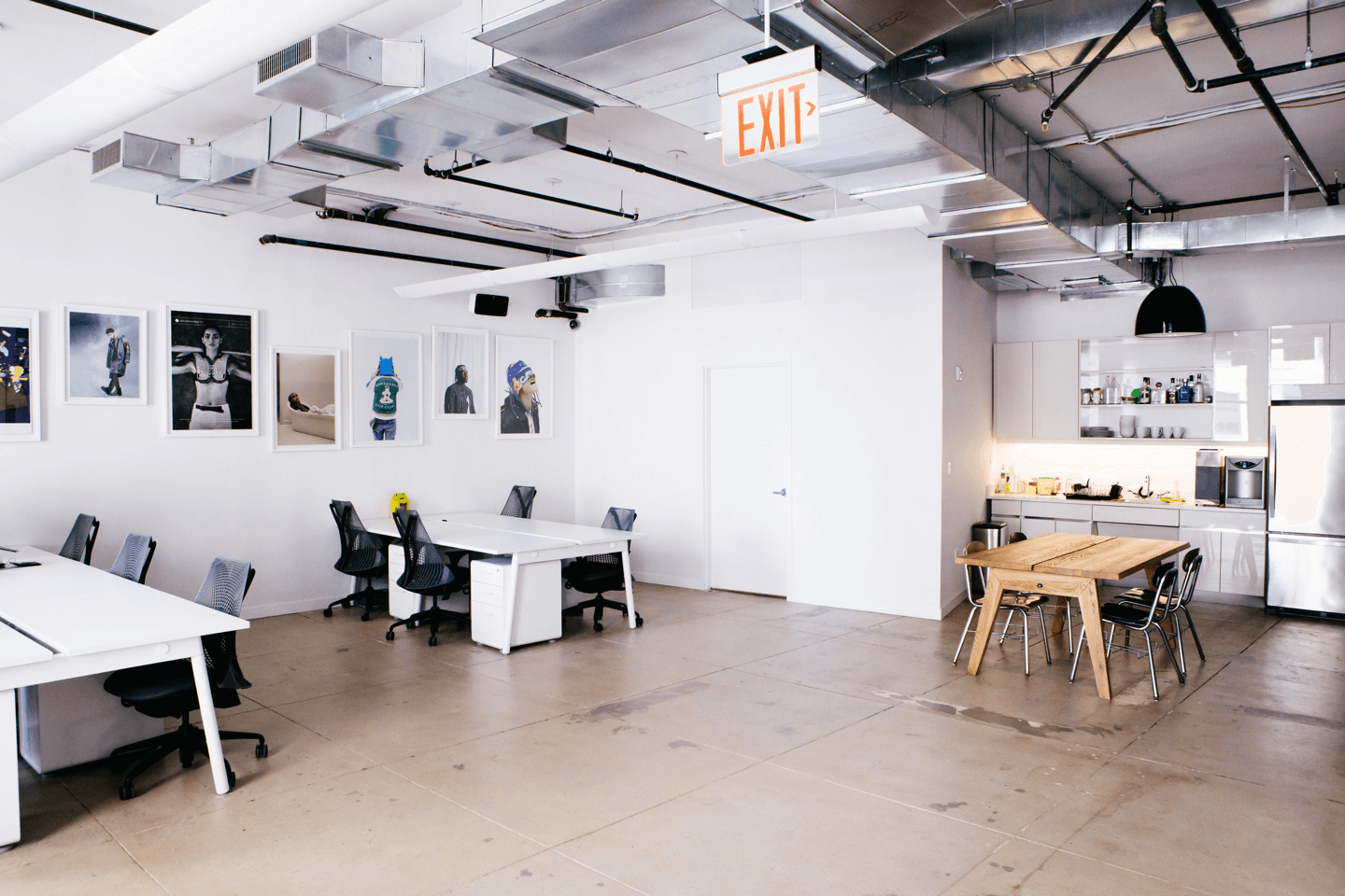 Photo of the Highsnobiety New York office.