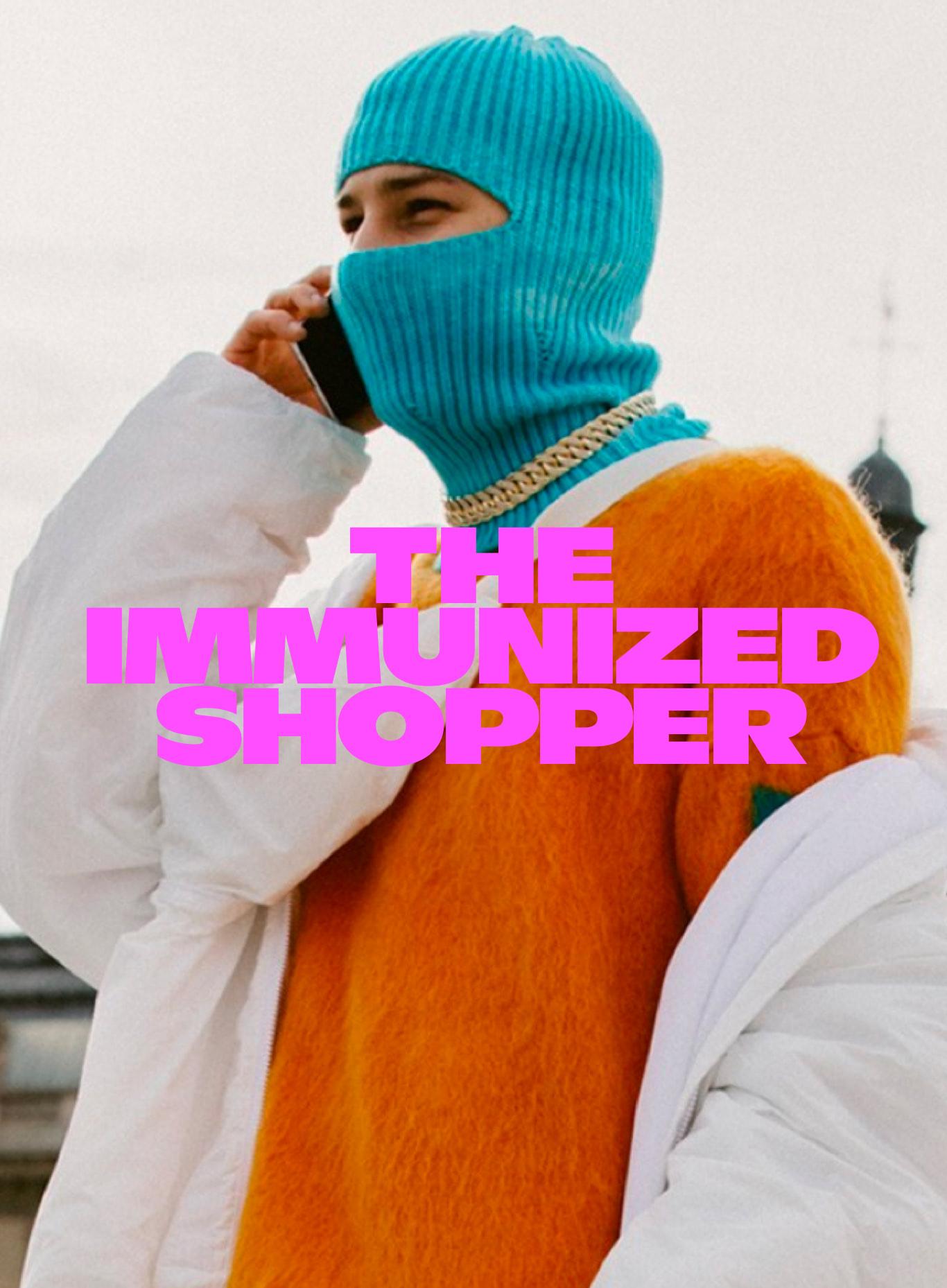 The Immunized Shopper Cover Art