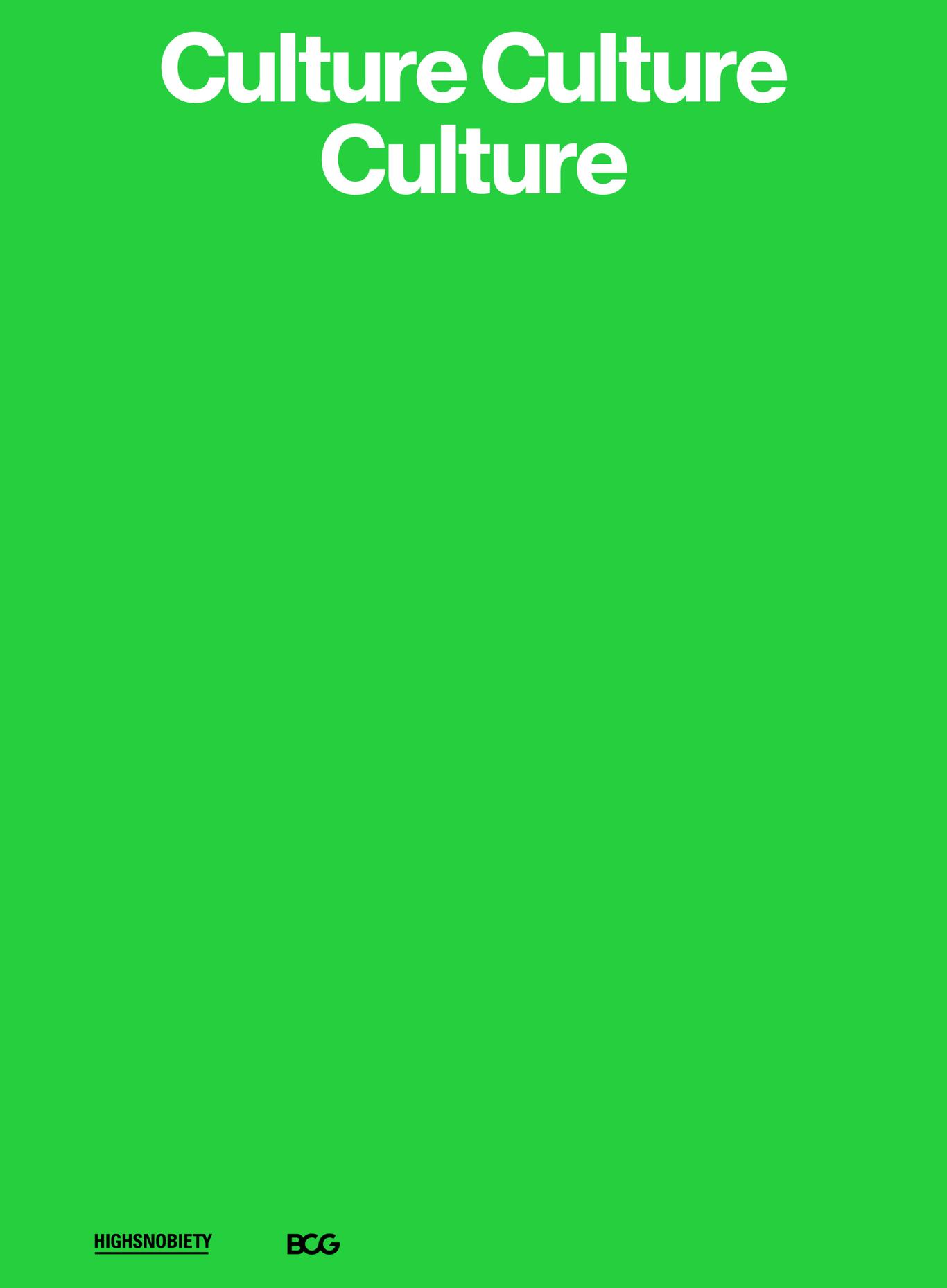 Culture, Culture, Culture white paper cover art