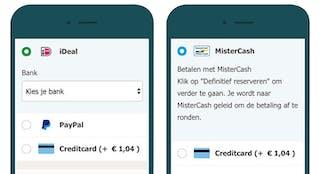 Hotelspecials.nl (links) en hotelspecials.be (rechts)