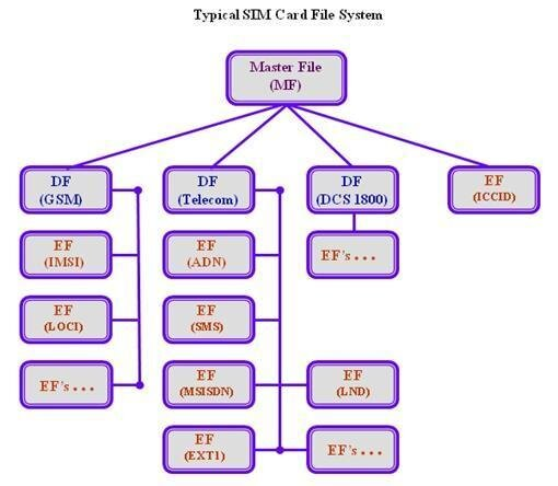 SIM file system