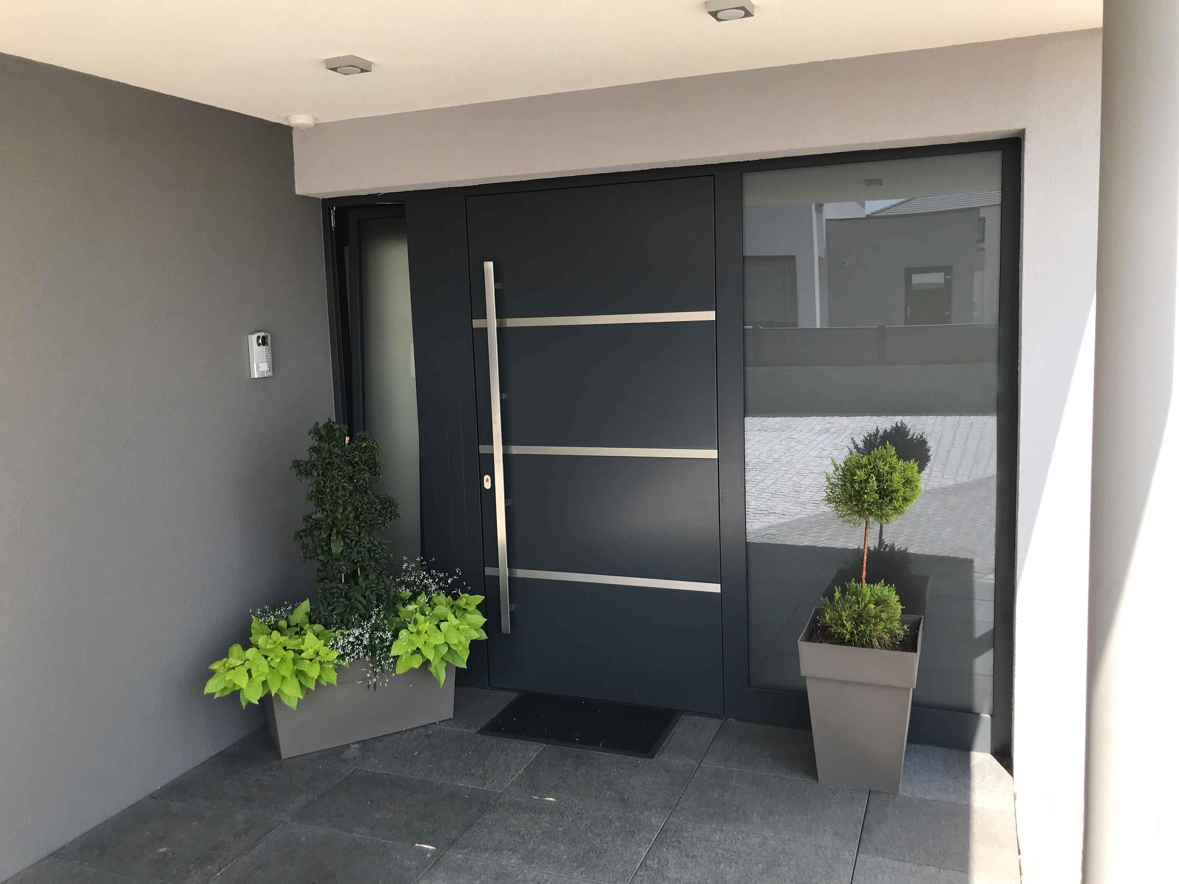 Porte d'entrée Aluminium FERMAP