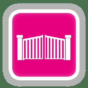 Icône Portails et clôtures FERMAP