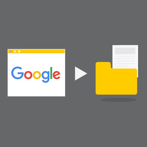 Google dizininde sorguyla eşleşen sayfaları arar
