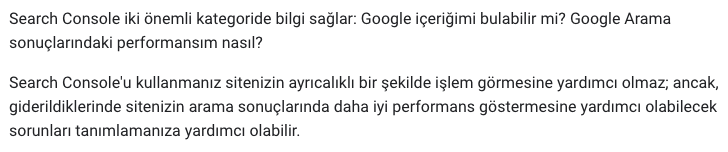 Google'a her sayfa hakkında bağlam verin
