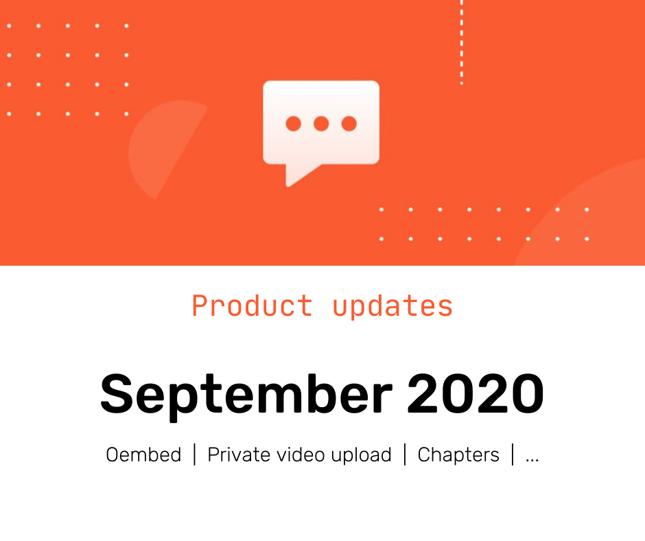 New Release and Features: September 2020