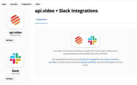 Send Messages in Slack Any Time You Create a New Video