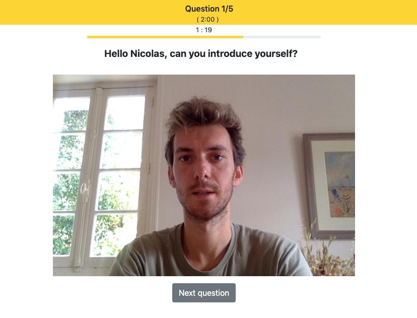 screenshot of Bee Ready Video