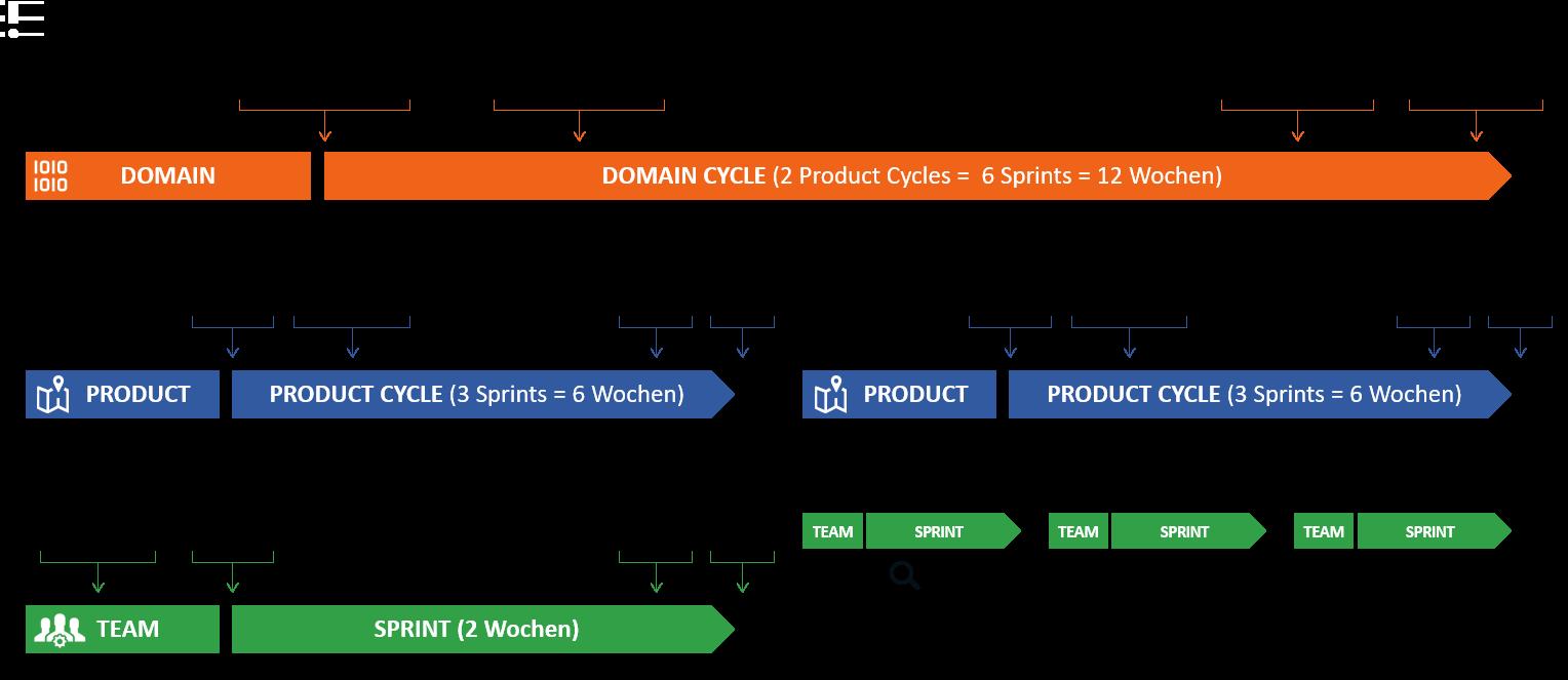 Management skalierter agiler SAP-Projekte