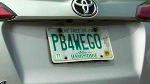 pb4wego license plate