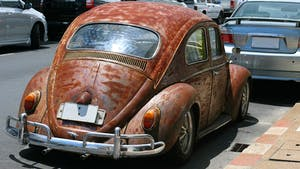 Rusty old Vw