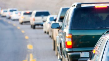 Traffic jam in Arizona