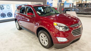 Chevrolet Equinox at an auto show