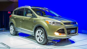 2014 Green Ford Escape