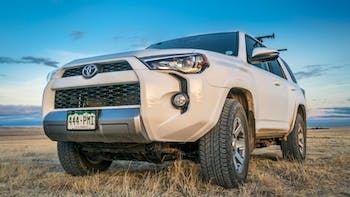Toyota 4Runner in Pawnee National Grassland