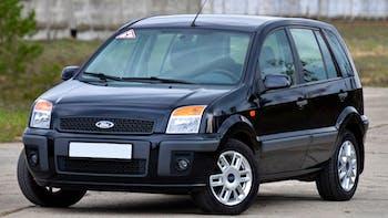Black Ford Fusion