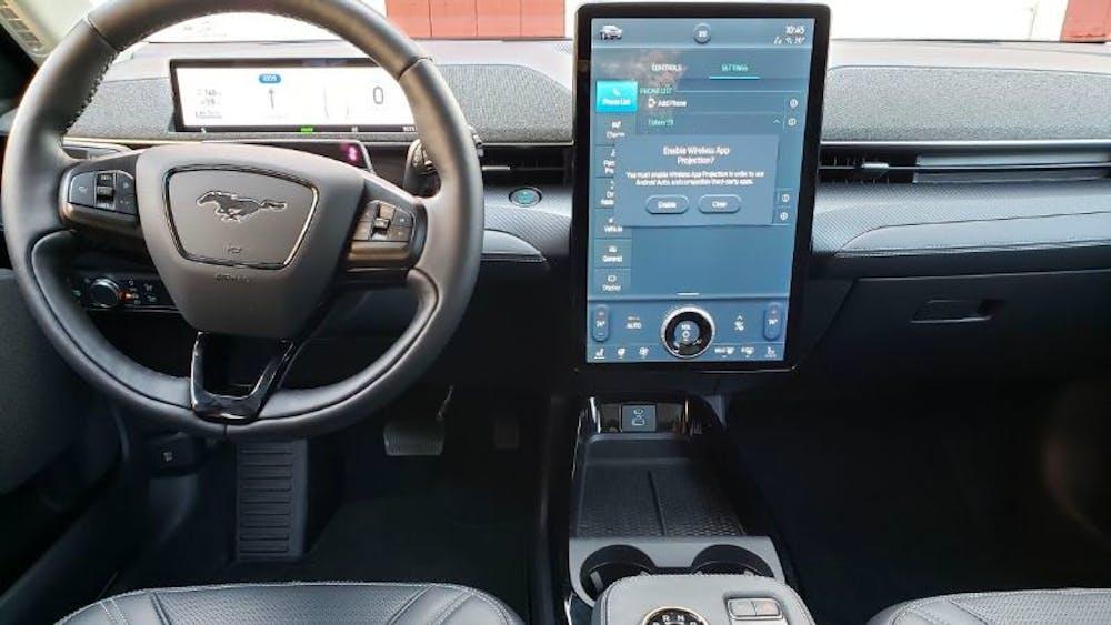 Elektrikli Ford Mustang