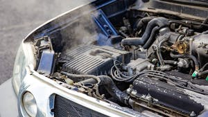 Over heating car engine