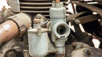 Very old carburator