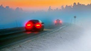 Winter traffic