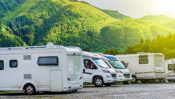 RV Park Camping site