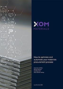 XOM Materials   White paper  XOM eShop   Optimize and automate your materials procurement process