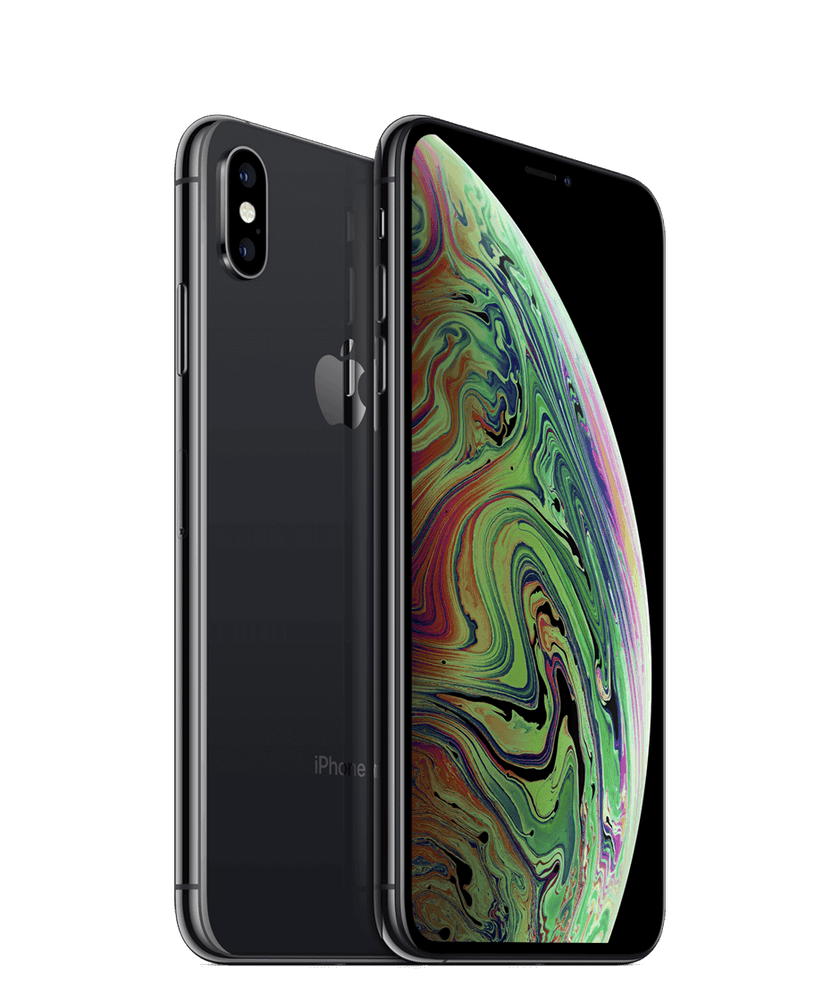 Side on view of iPhone