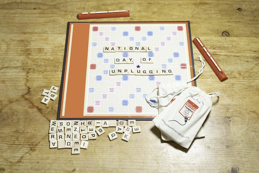 Scrabble like board game